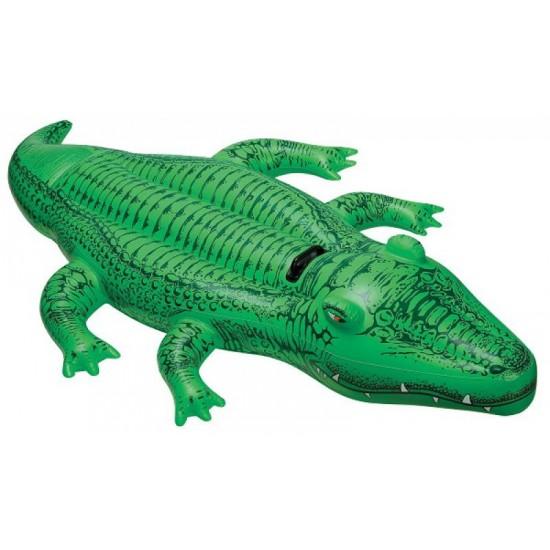 Надуваема играчка Крокодил 168x86см 58546NP Intex