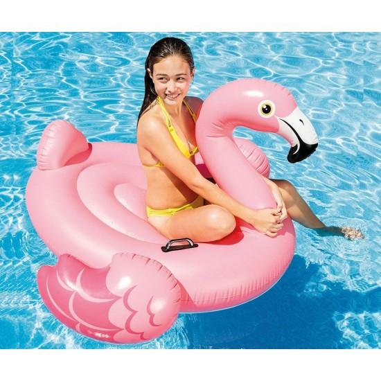 Надуваемо розово фламинго 142х137х97см 57558NP Intex