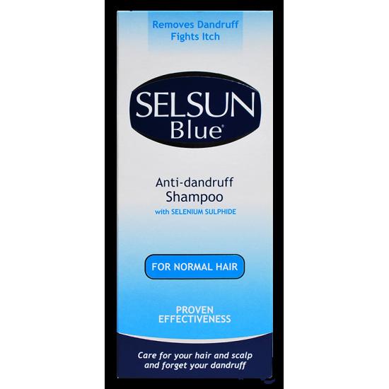 Selsun Blue™ – Шампоан против пърхот със селениев сулфид за нормална коса
