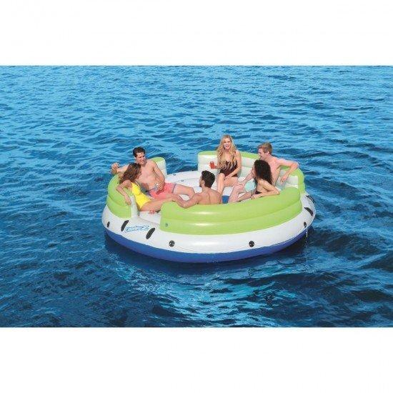 Надуваем остров Cooler Z Lazy Days 328см за 6 човека 43135 BESTWAY