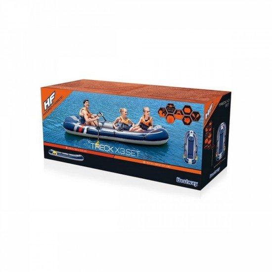 Надуваема лодка HYDRO-FORCE TRECK X3 BESTWAY 61110