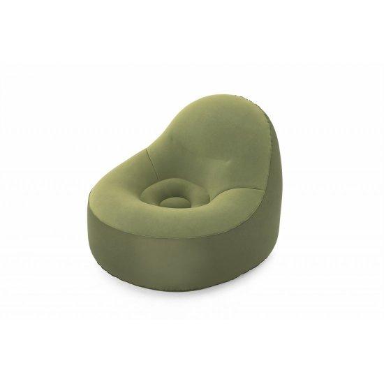 Надуваемо кресло маслено зелен 75082 Bestway