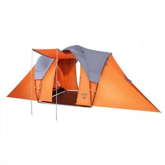 Семейна палатка Camer Base X6 за излети и къмпинг Bestway 68016