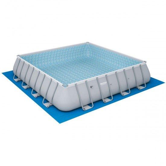 Сглобяем басейн Power Steel 488x488x122см с помпа Bestway 56626