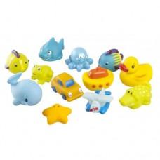 Играчки за баня 12 броя за момче
