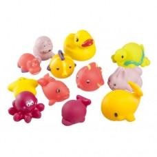 Играчки за баня 12 броя за момиче