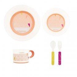 Комплект за хранене - pink