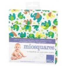 Bambino Mio Марлени кърпи – 4 броя - Парад на слончетата