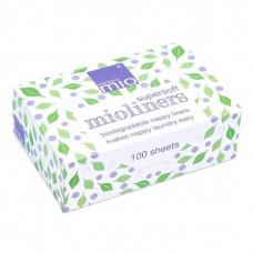 Bambino Mio Биоразградими супермеки подложки за пелени – 100 броя