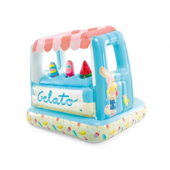 Надуваем център за игра Сладоледена къща INTEX