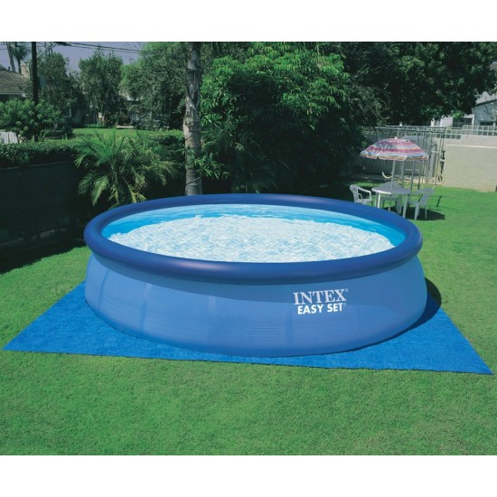 Надуваем басейн INTEX Easy Set, 457х122 см с филтърна помпа