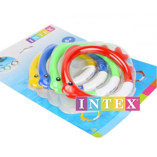 Подводни кръгове рибка INTEX