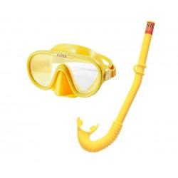 Комплект маска и шнорхел 55642 INTEX Adventurer