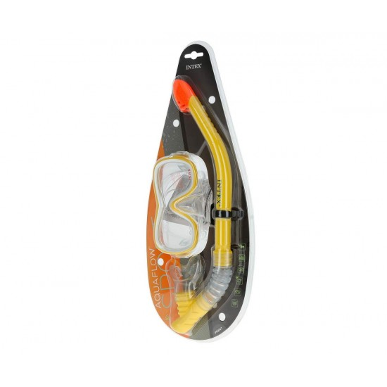 Комплект маска и шнорхел 55647 INTEX Wave Rider