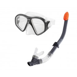 Комплект маска и шнорхел 55648 INTEX Reef Rider