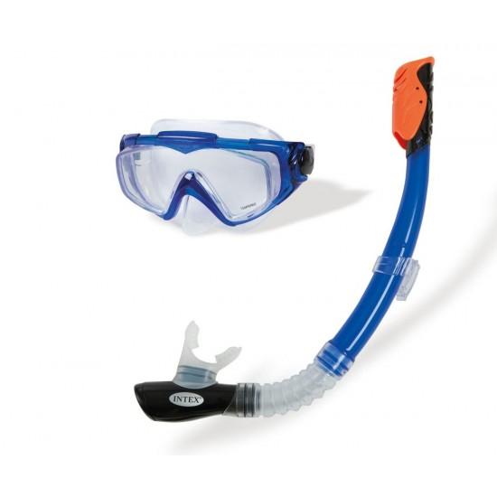 Комплект маска и шнорхел 55962 INTEX Silicone Aqua Sport