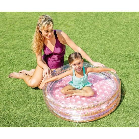 Бебешки надуваем басейн с брокат INTEX