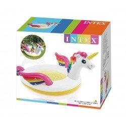 Детски надуваем басейн с пръскалка Еднорог INTEX Unicorn Spray