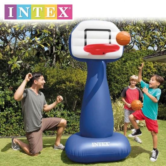 Надуваем комплект за баскетбол INTEX