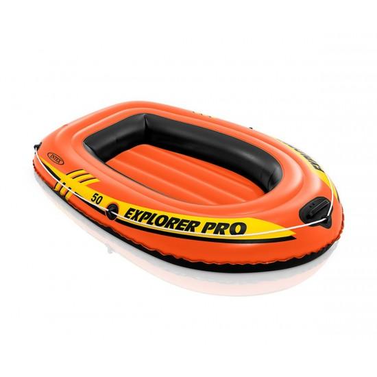 Надуваема лодка Explorer Pro 50 137х85х23 см Intex