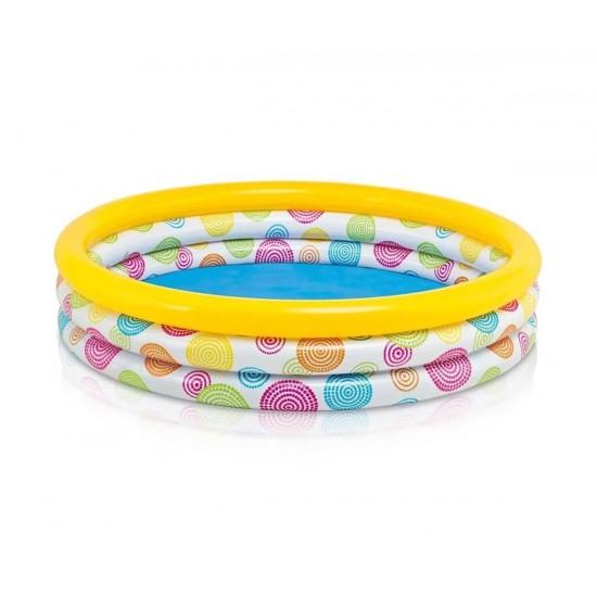 Детски надуваем басейн INTEX Cool Dots, среден