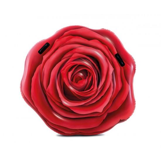 Надуваем дюшек Роза INTEX