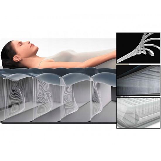Надуваем матрак с вградена помпа 137х191х25см INTEX Pillow Rest Classic
