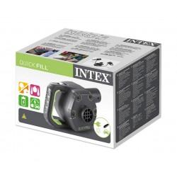Електрическа помпа със зарядна батерия и адаптор за 12V INTEX Quick-Fill Rechargeable, 650 л./мин.