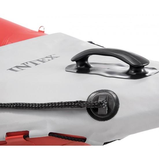 Надуваем каяк комплект, двоен INTEX Excursion Pro