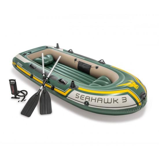 Надуваема лодка комплект INTEX Seahawk 3