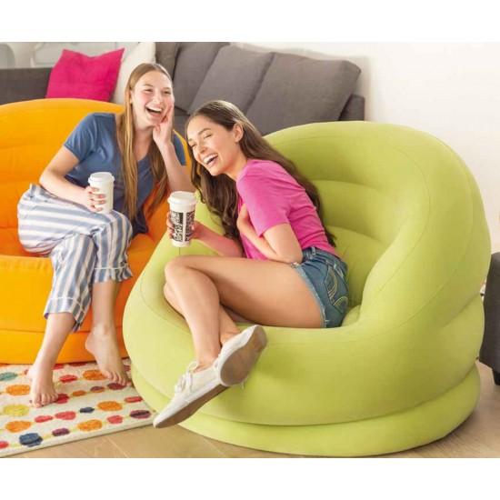 Надуваемо кресло INTEX Lumi Chairs, 2 цвята