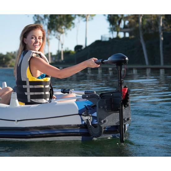 Електрически мотор за надуваема лодка INTEX, 12V, 420 W
