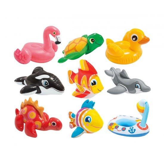 Надуваеми играчки Дребни животни 32х18х10см 58590NP Intex