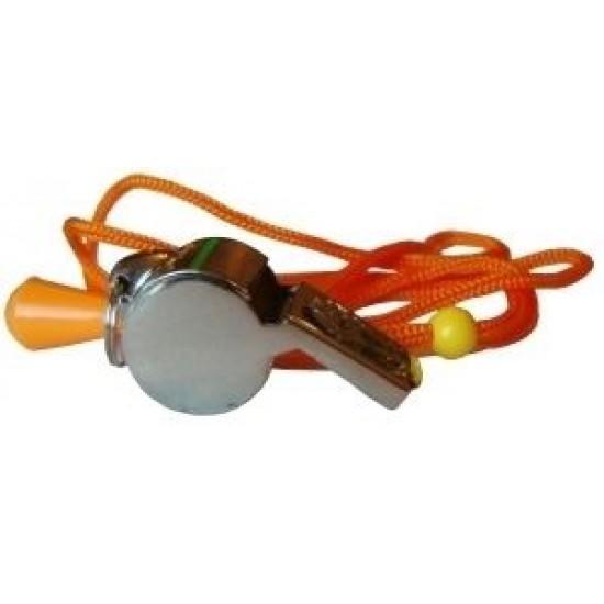 Свирка реферска (съдийска) метална с топче