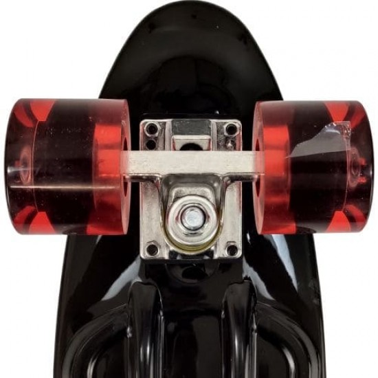 Скейтборд мини, пениборд MAXIMA, 56 см Черен