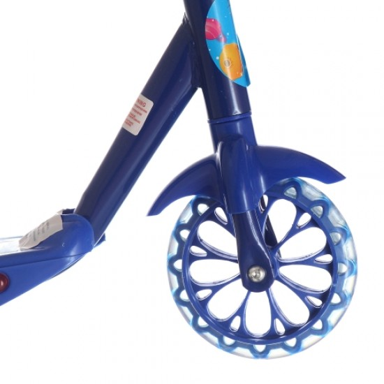 Тротинетка с 3 колела, светеща и музикална