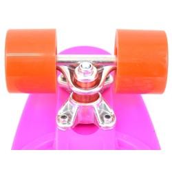 Скейтборд мини, пениборд (56 см) с цветен печат