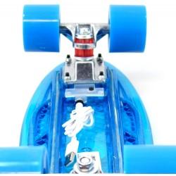 Скейтборд мини, пениборд (56 см)  с LED светлини на дъската