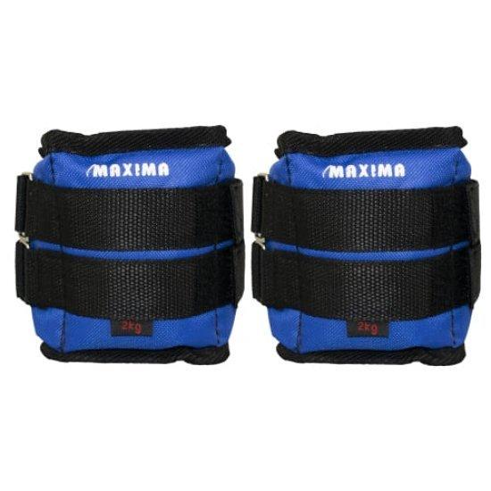 Тежести за ръце и крака чифт 2 кг MAXIMA