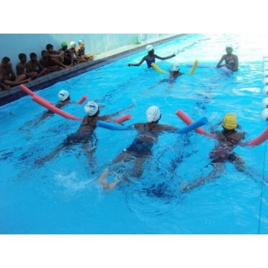 Пръчка - нудълс (макарон) за водна гимнастика , 147 - 152 см, Ф6 см - 200454