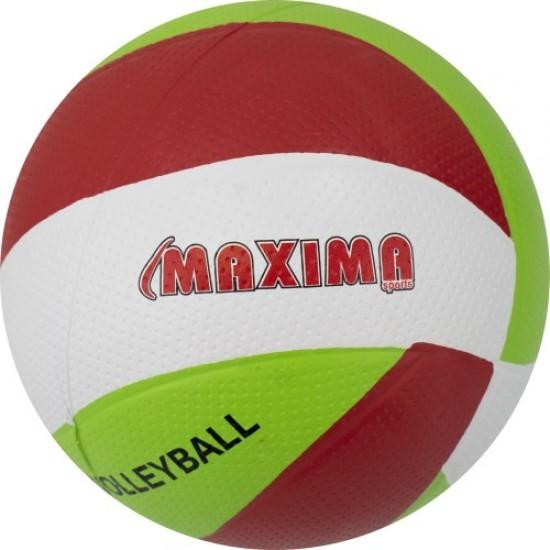 Топка волейбол гумена , Размер 5, Спираловидна шарка