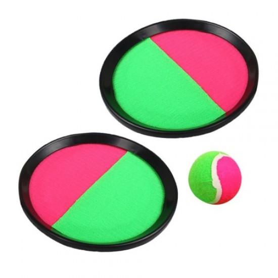 Игра кечбол, Комплект две лапи с топка - 200943