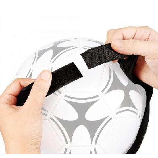 Комплект ластик с колан за самостоятелна тренировка по футбол - 200953