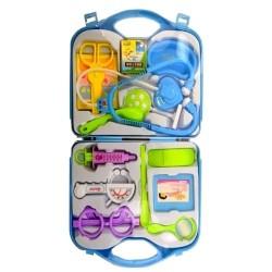 Детски докторски комплект в куфарче