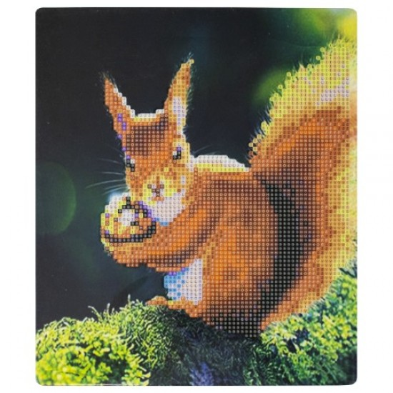 Диамантен пъзел мозайка, 25х21 см