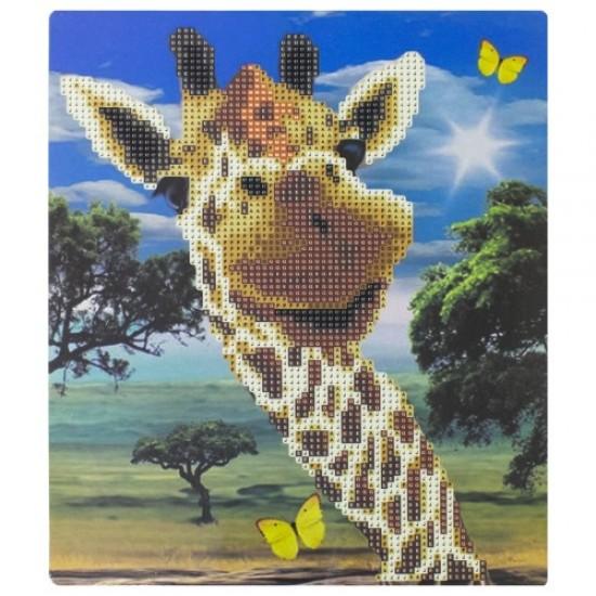 Диамантен пъзел мозайка, 25х21 см 01