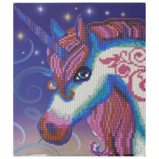 Диамантен пъзел мозайка, 25х21 см 03