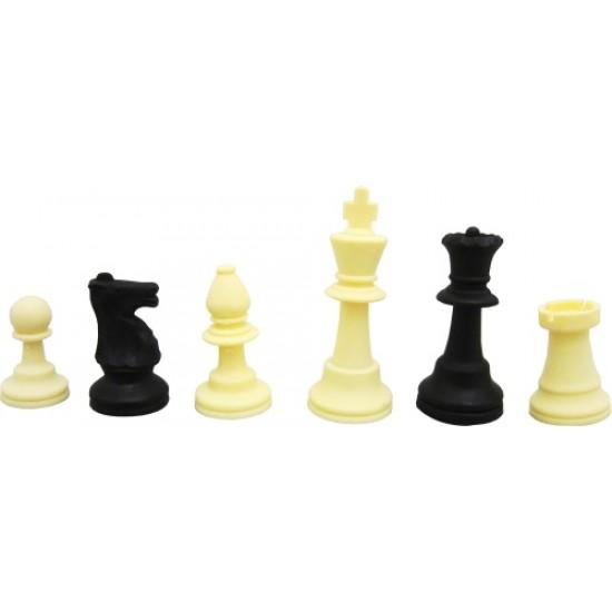 Шах с полиетиленово платно и PVC фигури
