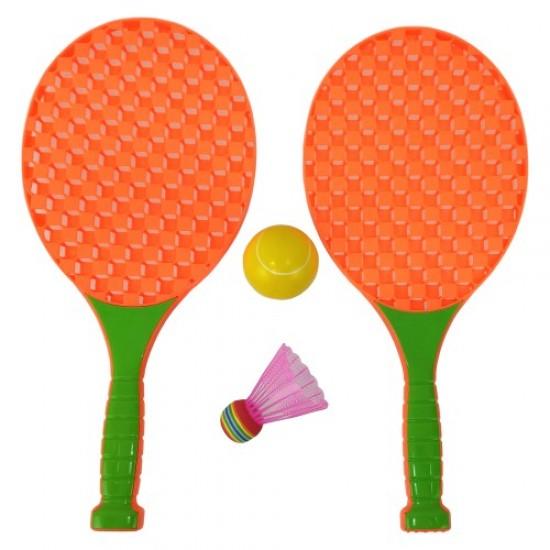 Детски игрален комплект за федербал и тенис