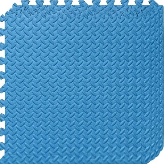 Настилка ЕVA,  4 броя в комплект, 4 сини